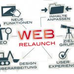 web relaunch
